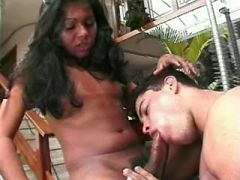 Latin shemale with huge cock sucking cock of guy